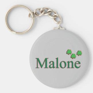 Malone Family Key Ring