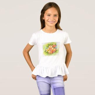 Malorie Arisumi Girls plumeria shirt