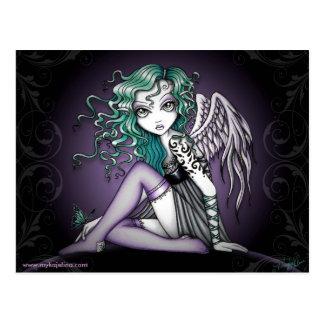 Malory Cute Little Tattoo Angel Postcard