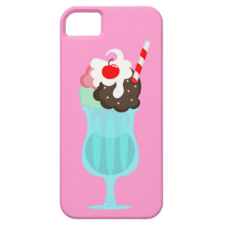 Malt Shop Ice Cream Drink,Pink iPhone 5/5S Case