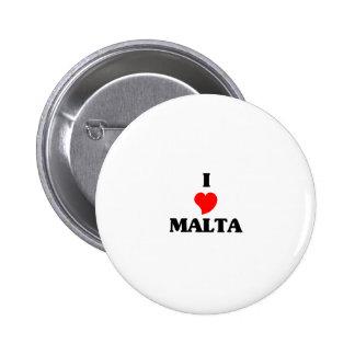 MALTA 6 CM ROUND BADGE
