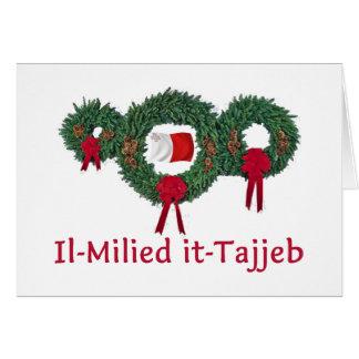 Malta Christmas 2 Greeting Card