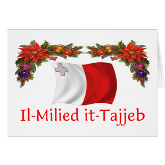 Malta Christmas Greeting Card