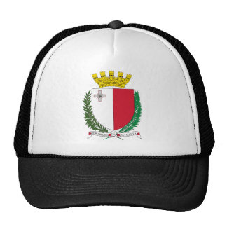 Malta coat of arms cap