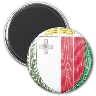 Malta Coat Of Arms Magnet