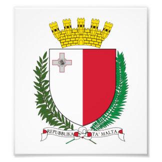 Malta Coat Of Arms Photo Print