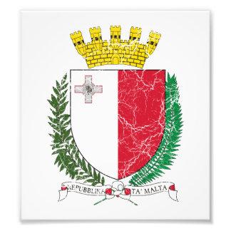 Malta Coat Of Arms Photo