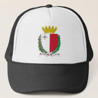 Malta coat of arms trucker hat