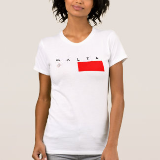 Malta country flag nation symbol republic T-Shirt