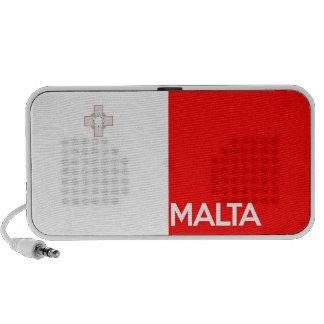 malta country flag symbol name text iPod speakers