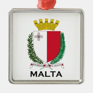 MALTA - emblem/coat of arms/symbol/flag Metal Ornament