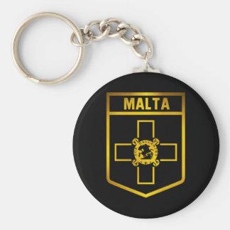 Malta  Emblem Key Ring