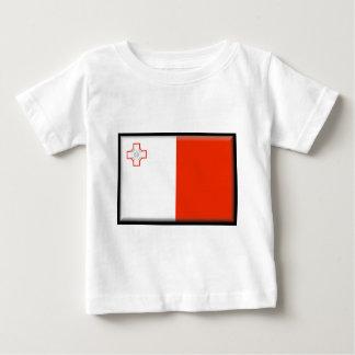 Malta Flag Baby T-Shirt