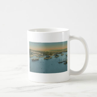Malta - Grand Harbour, Vintage Coffee Mug