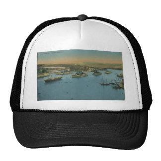 Malta - Grand Harbour, Vintage Trucker Hat