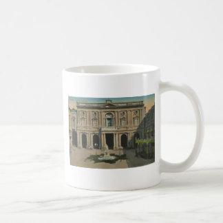 Malta - Library, Vintage Mug