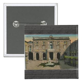 Malta - Library Vintage Pin