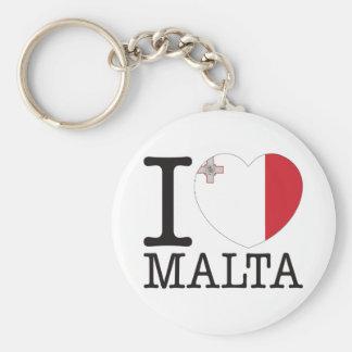 Malta Love v2 Key Ring
