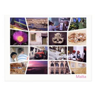 Malta multi-image postcard