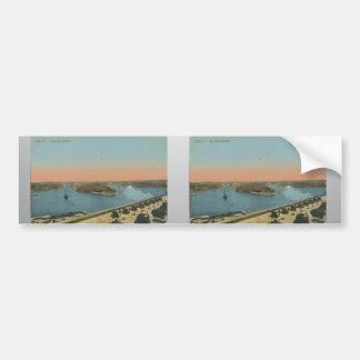 Malta - Saluting Battery Vintage Bumper Stickers