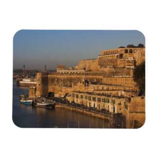 Malta, Valletta, harbor view from Lower Barrakka Magnet