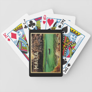 Malta Vintage Bicycle Playing Cards
