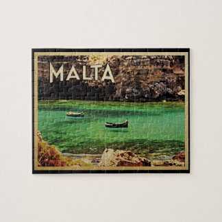 Malta Vintage Jigsaw Puzzle