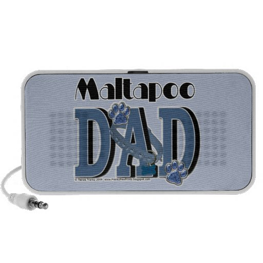 MaltaPoo DAD Travelling Speakers