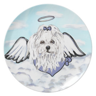 Maltese Angel Plate