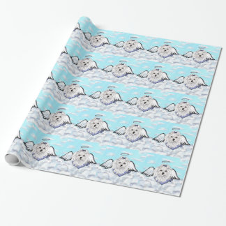 Maltese Angel Wrapping Paper