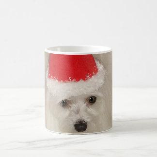 Maltese Christmas Coffee Mug