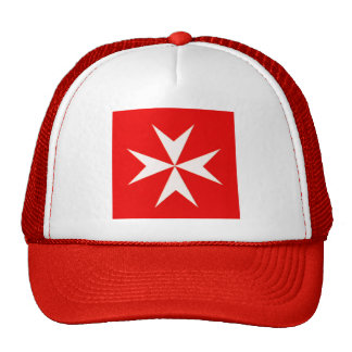 MALTESE CROSS BASEBALL CAP