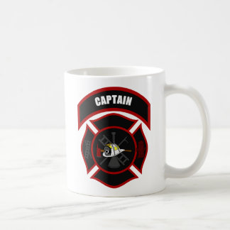 Maltese Cross - Captain (White Helmet) Coffee Mug