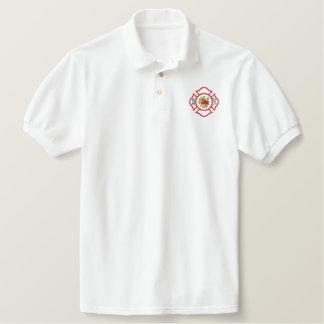 Maltese Cross Embroidered Shirt