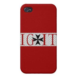 Maltese Cross iPhone 4 Cases