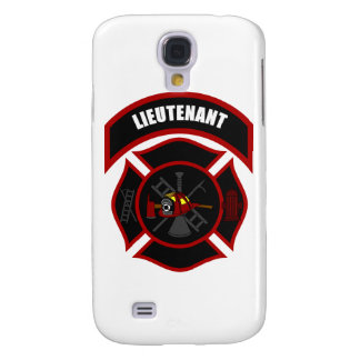 Maltese Cross - Lieutenant (Red Helmet) Samsung Galaxy S4 Case