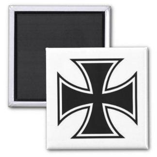Maltese Cross Magnet