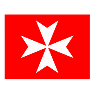 Maltese Cross Postcard