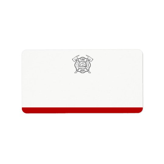 Maltese Cross Symbol   Blank Address Label