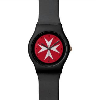 Maltese cross Watch