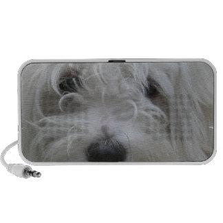 Maltese Dog Portable Speakers