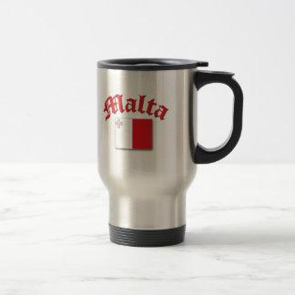Maltese Flag Travel Mug