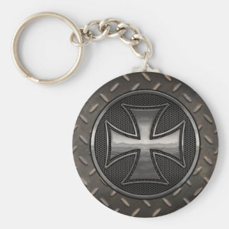 Maltese Gridiron Key Ring