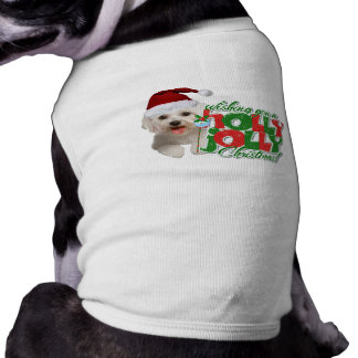 Maltese Have Holly Jolly Christmas Shirt