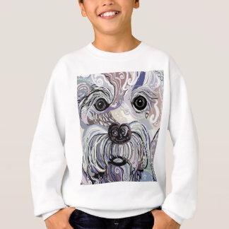 Maltese in Denim Colors Sweatshirt
