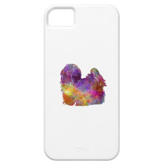 Maltese in watercolor barely there iPhone 5 case