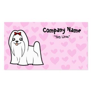 Maltese Love (show cut) Business Cards