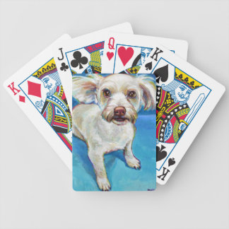 MALTESE Mix Bicycle Playing Cards