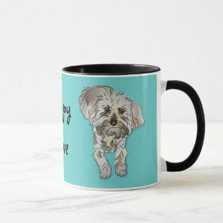 Maltese Poodle Mixed - Puppy Love Mug