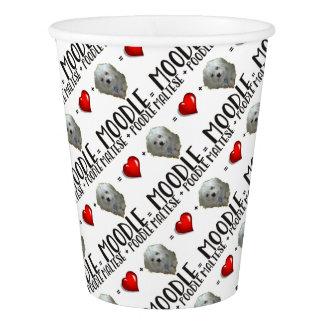 Maltese + Poodle = Moodle Paper Cup